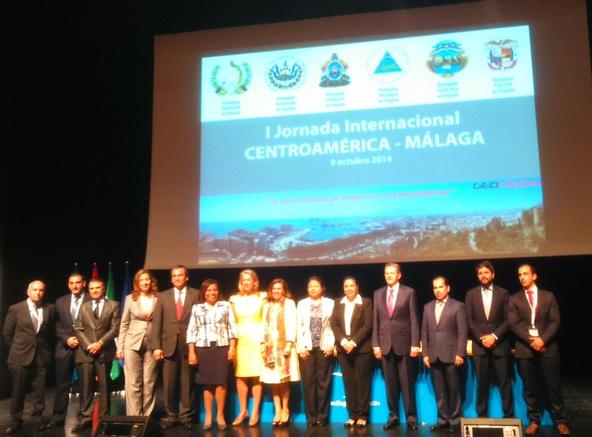 I Jornada Centroamérica Málaga clausura