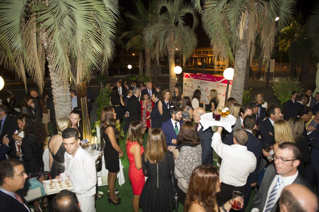I Jornada centroamérica Málaga cena gala
