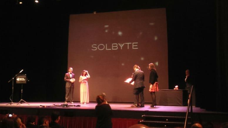 Solbyte, primera finalista de Premios AJE Malaga 2015
