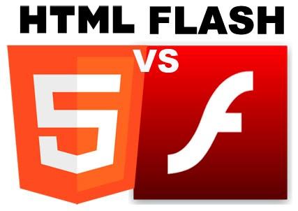 htmlvsflash