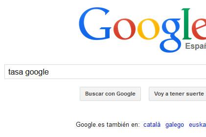 tasa google